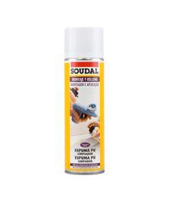 O spray limpador espuma PU