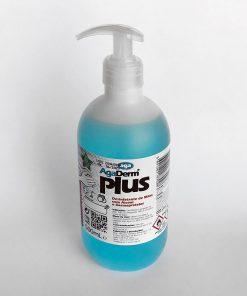 Contém álcool etílico e isopropílico, a 70% vol. e dermoprotetor. Deixa as mãos suaves, frescas e desinfetadas.