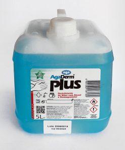 Desinfetante de mãos com álcool e dermoprotetor 5L