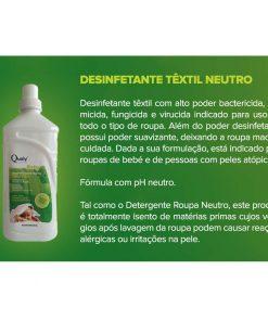 Desinfetante têxtil neutro - Linha Baby