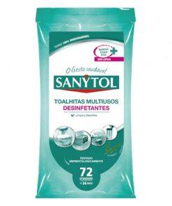 Toalhitas Desinfetantes Multiusos Sanytol
